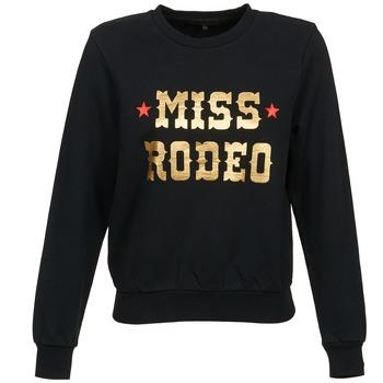 textil Dame Sweatshirts American Retro MIRKO Sort