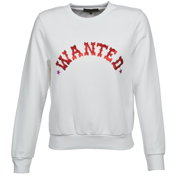 textil Dame Sweatshirts American Retro MIRKO Hvid