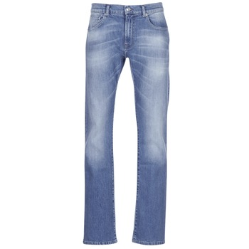 textil Herre Bootcut jeans Casual Attitude IGERAL Blå / Lys