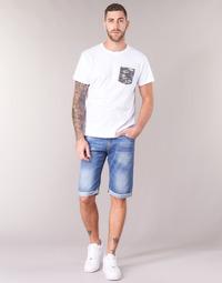 textil Herre Shorts Yurban IXOLAK Blå / Lys