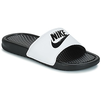 Sko Herre badesandaler Nike BENASSI JUST DO IT Hvid / Sort