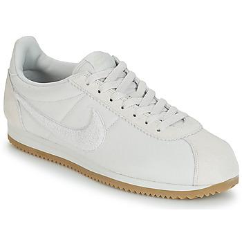 finest selection c4950 e15ef Sko Herre Lave sneakers Nike CLASSIC CORTEZ SE Beige