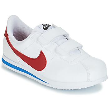 Sko Dreng Lave sneakers Nike CORTEZ BASIC PRE-SCHOOL Hvid / Blå / Rød