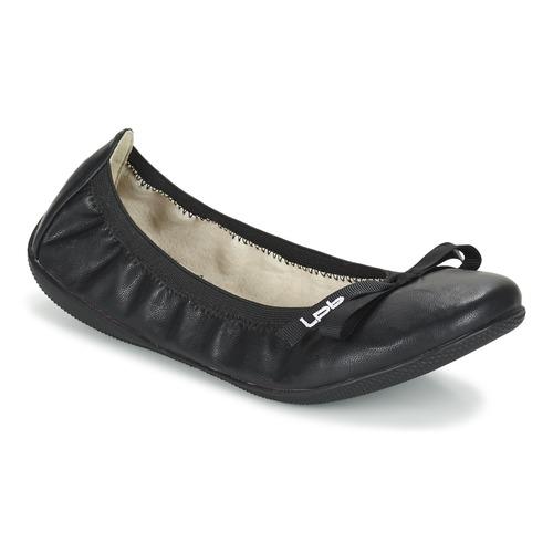 Sko Dame Ballerinaer LPB Shoes ELLA Sort