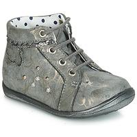 Sko Pige Høje sneakers Catimini FANETTE Vte / GrÅ-marmor / Gylden / Dpf / Gluck