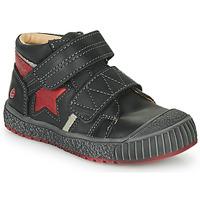 Sko Dreng Høje sneakers GBB RADIS Vte / Sort-mursten / Dpf / Linux