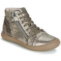 Sko Pige Høje sneakers GBB RACHIDA Muldvarpegrå / Bronze