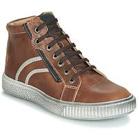 Sko Dreng Høje sneakers GBB NESTOR Vte / Brun / Dpf / Letty