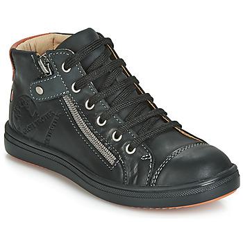 Sko Dreng Høje sneakers GBB NICO Vte / Sort / Dpf / 2835