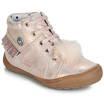 Sko Pige Høje sneakers Catimini ROSALIE Vte / Pink / Støvet / Dpf / 2822