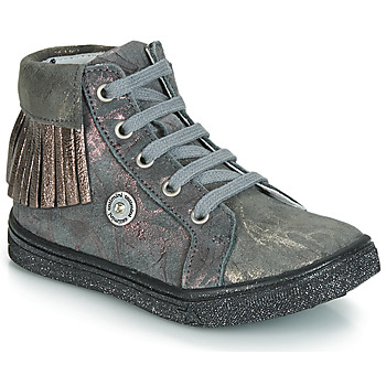 Sko Pige Høje sneakers Catimini LOULOU Vte / GrÅ-marmor / Pink / Dpf / Dolby