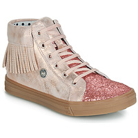 Sko Pige Høje sneakers Catimini LOULOU Pink