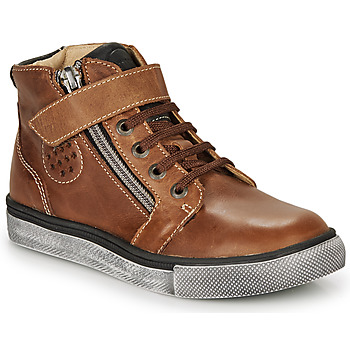 Sko Dreng Høje sneakers Catimini TOBBY Brun