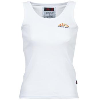 textil Dame Toppe / T-shirts uden ærmer Les voiles de St Tropez BLENNIE Hvid