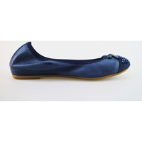 Sko Dame Ballerinaer Cruz ballerine blu pelle camoscio AG314 Blu