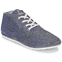 Sko Dame Lave sneakers Eleven Paris BASGLITTER Sølv