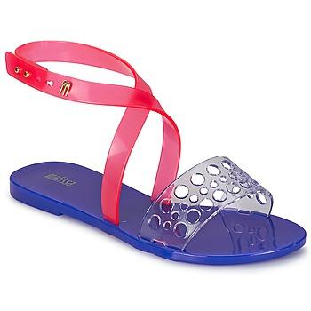 Sko Dame Sandaler Melissa TASTY Blå / Pink