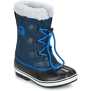 Sko Børn Vinterstøvler Sorel YOOT PAC™ NYLON Marineblå