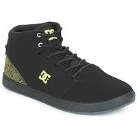 Sko Børn Høje sneakers DC Shoes CRISIS HIGH SE B SHOE BK9 Sort / Grøn