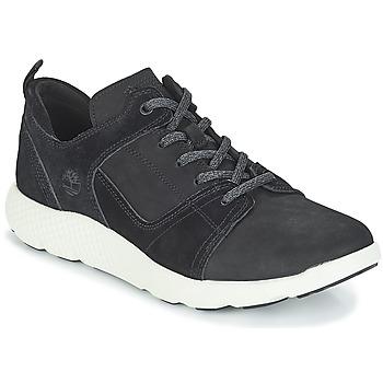 Sko Herre Høje sneakers Timberland FlyRoam Leather Oxford Sort
