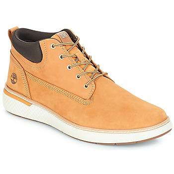 Sko Herre Høje sneakers Timberland Cross Mark PT Chukka Hvede
