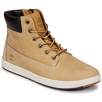Sko Børn Høje sneakers Timberland Davis Square 6 Inch Boot Brun