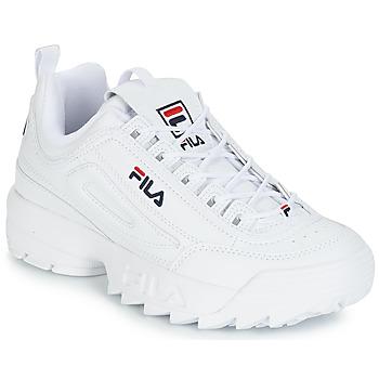 Sko Herre Lave sneakers Fila DISRUPTOR LOW Hvid