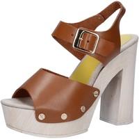 Sko Dame Sandaler Suky Brand Sandaler AC482 Brun