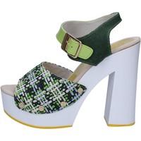 Sko Dame Sandaler Suky Brand Sandaler AC489 Grøn