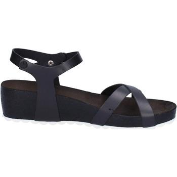 Sko Dame Sandaler 5 Pro Ject sandali nero pelle bianco AC700 Nero