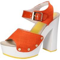 Sko Dame Sandaler Suky Brand Sandaler AC802 Orange