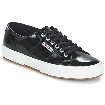 Sko Dame Lave sneakers Superga 2750-LEAPATENTW Sort