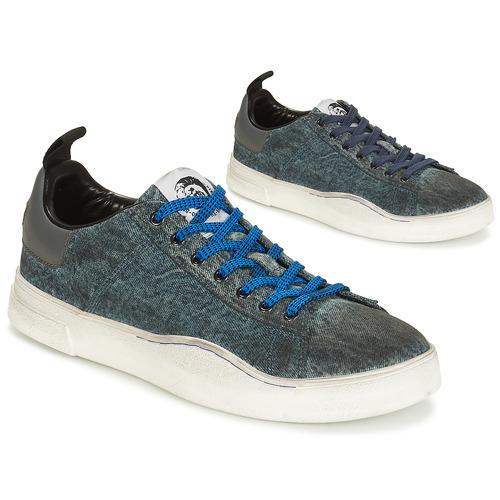 Sko Herre Lave sneakers Diesel S-CLEVER LOW Denim