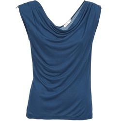 textil Dame Toppe / T-shirts uden ærmer DDP CARLA Marineblå