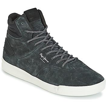 Sko Herre Høje sneakers Pepe jeans BTN 01 Marineblå