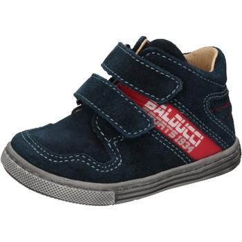 Sko Dreng Høje sneakers Balducci AD585 Blå