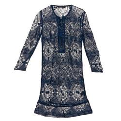 textil Dame Korte kjoler Antik Batik LEANE Marineblå