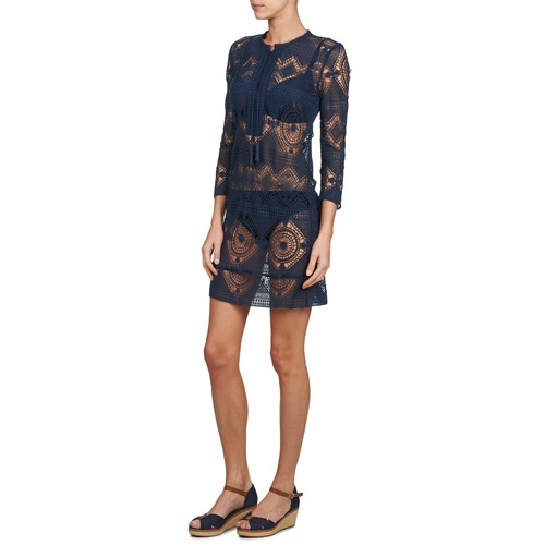 Begræns Rabat Tøj Antik Batik LEANE Marineblå