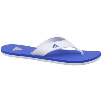 Sko Børn Klipklapper  adidas Originals Beach Thong 2 K Hvid, Blå