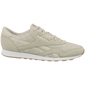 Sko Herre Lave sneakers Reebok Sport CL Nylon SG Beige