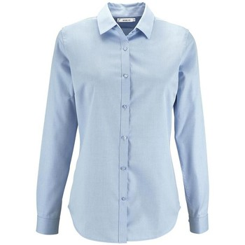 textil Dame Skjorter / Skjortebluser Sols BRODY WORKER WOMEN Azul