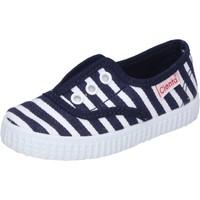 Sko Dreng Lave sneakers Cienta AD823 Blå