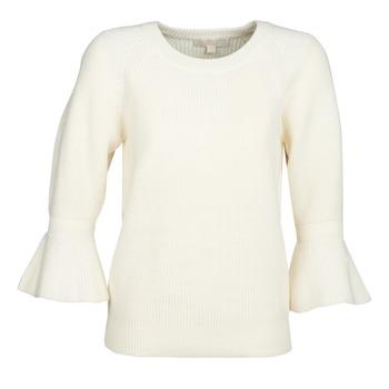 textil Dame Pullovere MICHAEL Michael Kors SHAKER ROUND SLV Hvid
