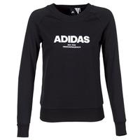 textil Dame Sweatshirts adidas Originals ESS ALLCAP SWT Sort