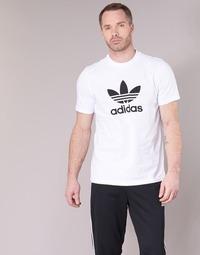 textil Herre T-shirts m. korte ærmer adidas Originals TREFOIL T-SHIRT Hvid