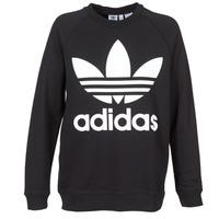 textil Dame Sweatshirts adidas Originals OVERSIZED SWEAT Sort
