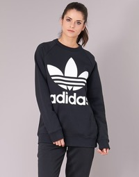 textil Dame Sweatshirts adidas Originals OVERSIZED SWEAT Sort