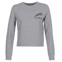 textil Dame Sweatshirts Philipp Plein Sport ROUND AIR SQUAT Grå