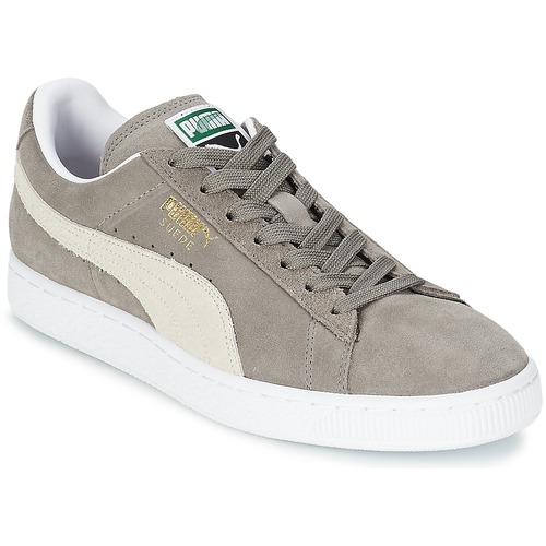 Sko Lave sneakers Puma SUEDE CLASSIC Grå
