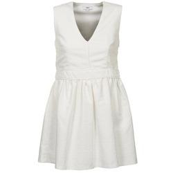 textil Dame Korte kjoler Suncoo CAGLIARI Hvid